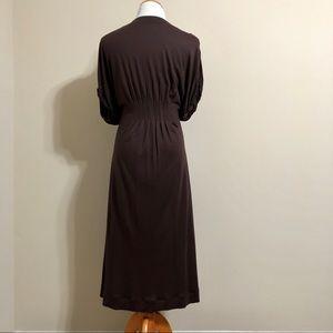 Anthropologie Dresses - Anthropologie Brown Delta Dress